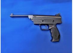 Vzduchová pistole lámací černá krátká  ráže 4,5mm